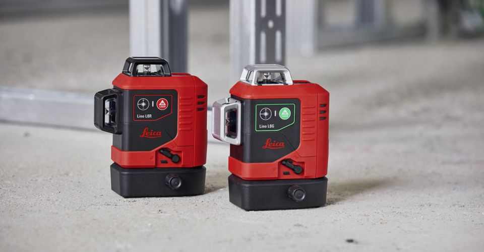 lasery krzyżowe Leica LinoL6R L6G