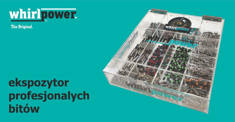 ekspozytor bitów Whirlpower - nowość